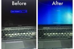 Bios locked laptop