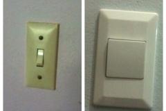 Change light switch