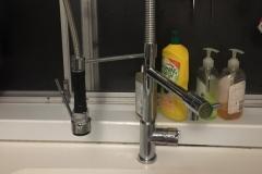 install new kitchen mixer